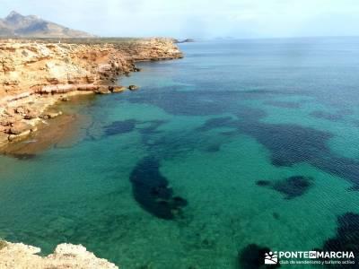 Calblanque y Calnegre - Cabo Tiñoso; rutas para caminar; senderismo y meditacion;senderismo comunid